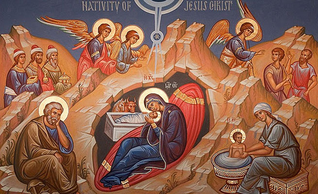 When Is Greek Orthodox Christmas.Christmas Assumption Of The Blessed Virgin Mary Greek